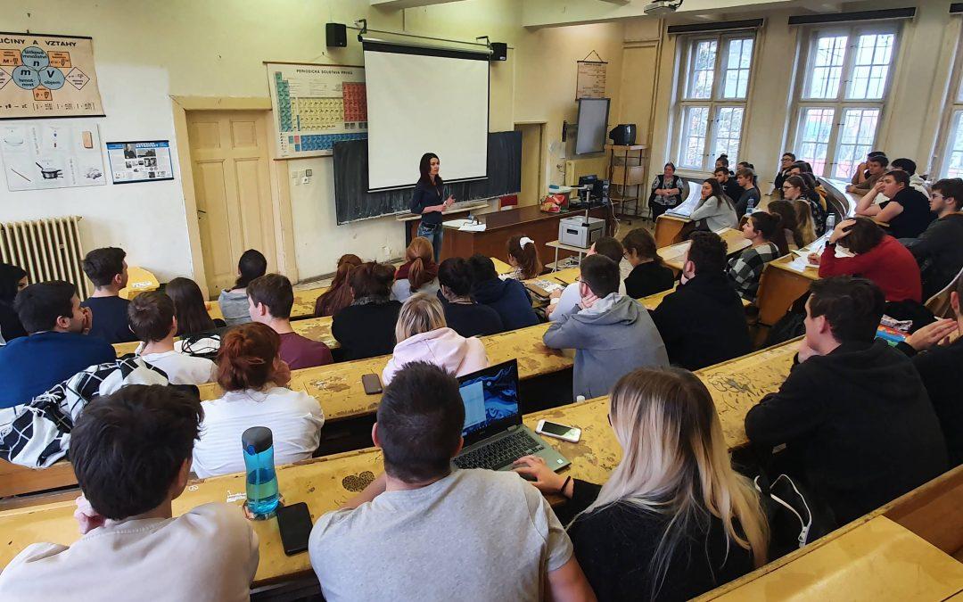 Start projektu zkusto přinesl velký zájem ze strany studentů